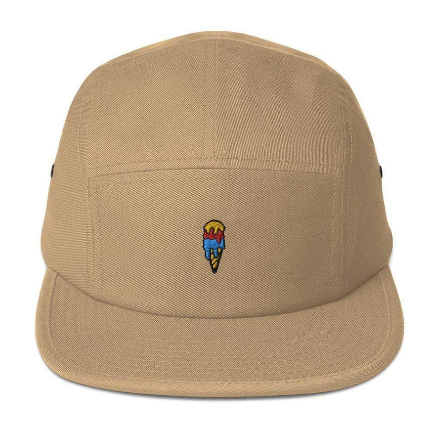 dadrack Camp Hat khaki ice cream cone camp hat