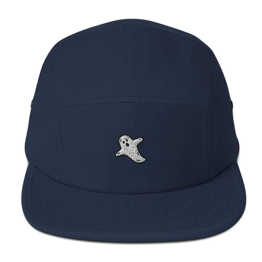 dadrack Camp Hat navy camp hat - a friendly ghost