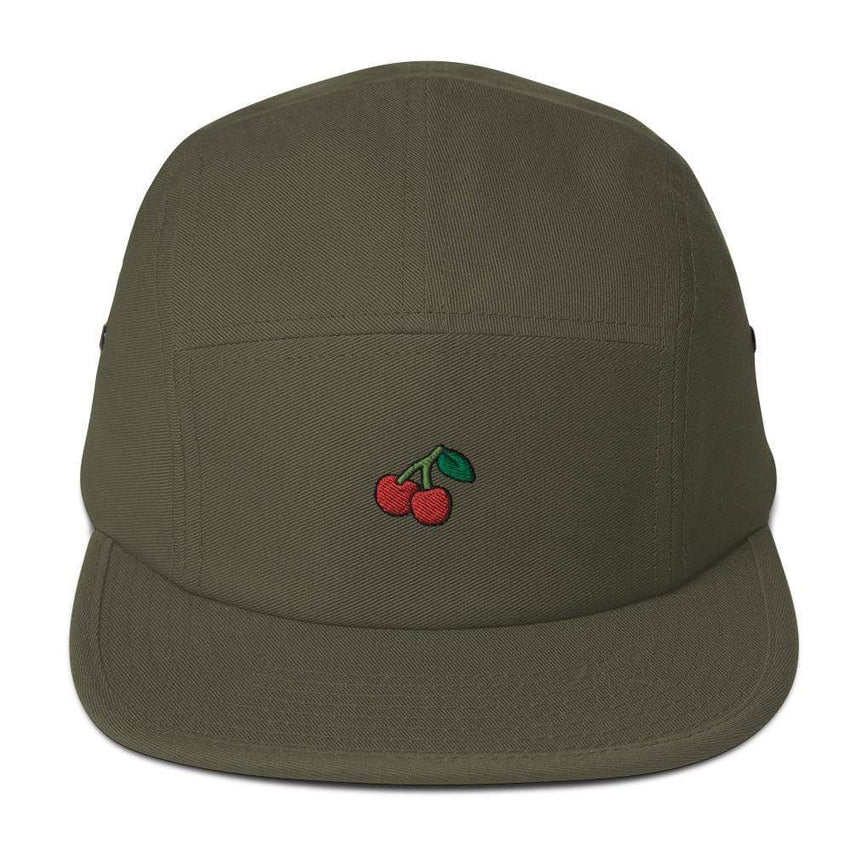 dadrack Camp Hat olive cherry cherry camp hat