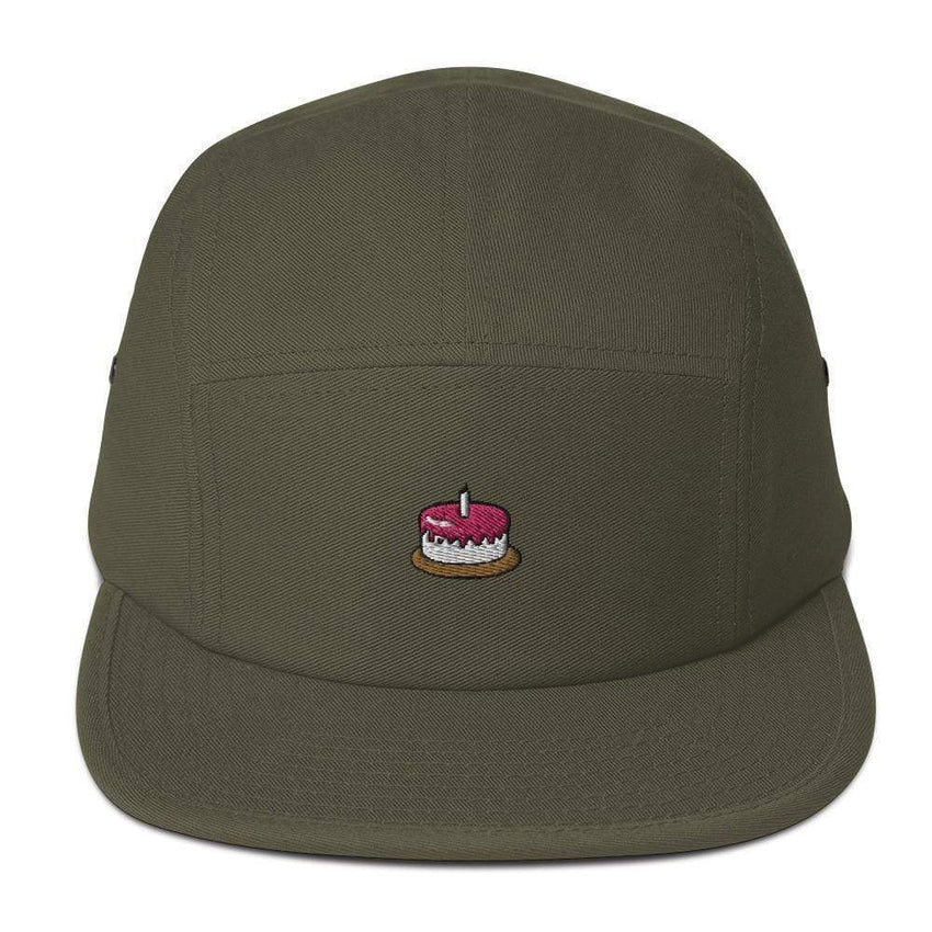 dadrack Camp Hat olive the cake is a lie camp hat