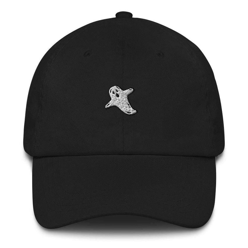 dadrack Dad Hat black dad hat - a friendly ghost