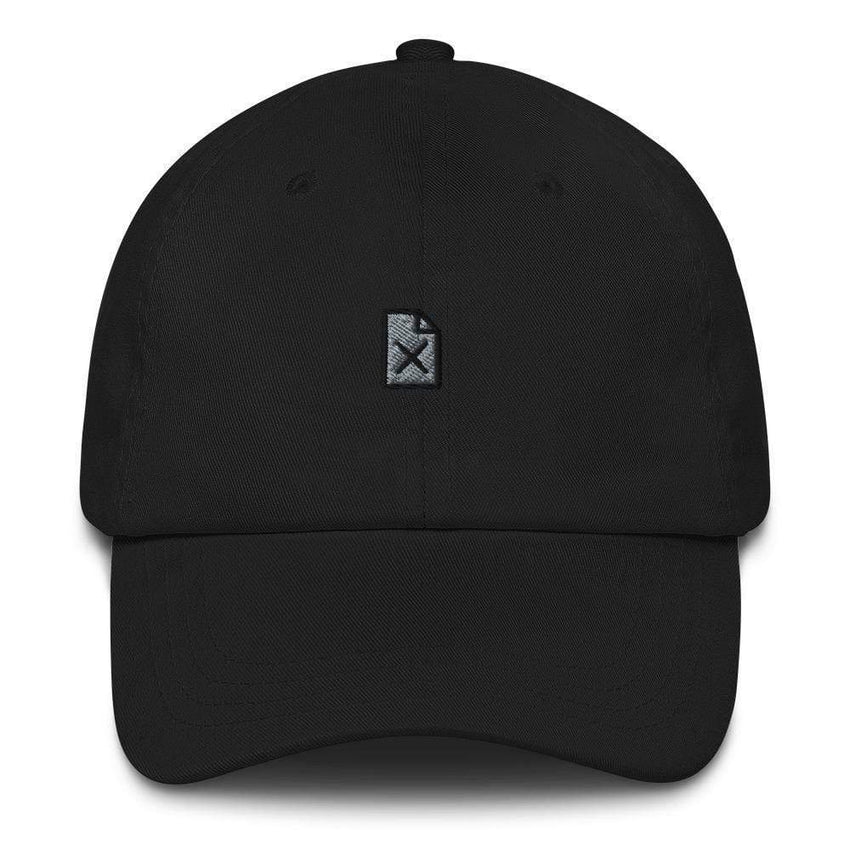 dadrack Dad Hat black file not found dad hat