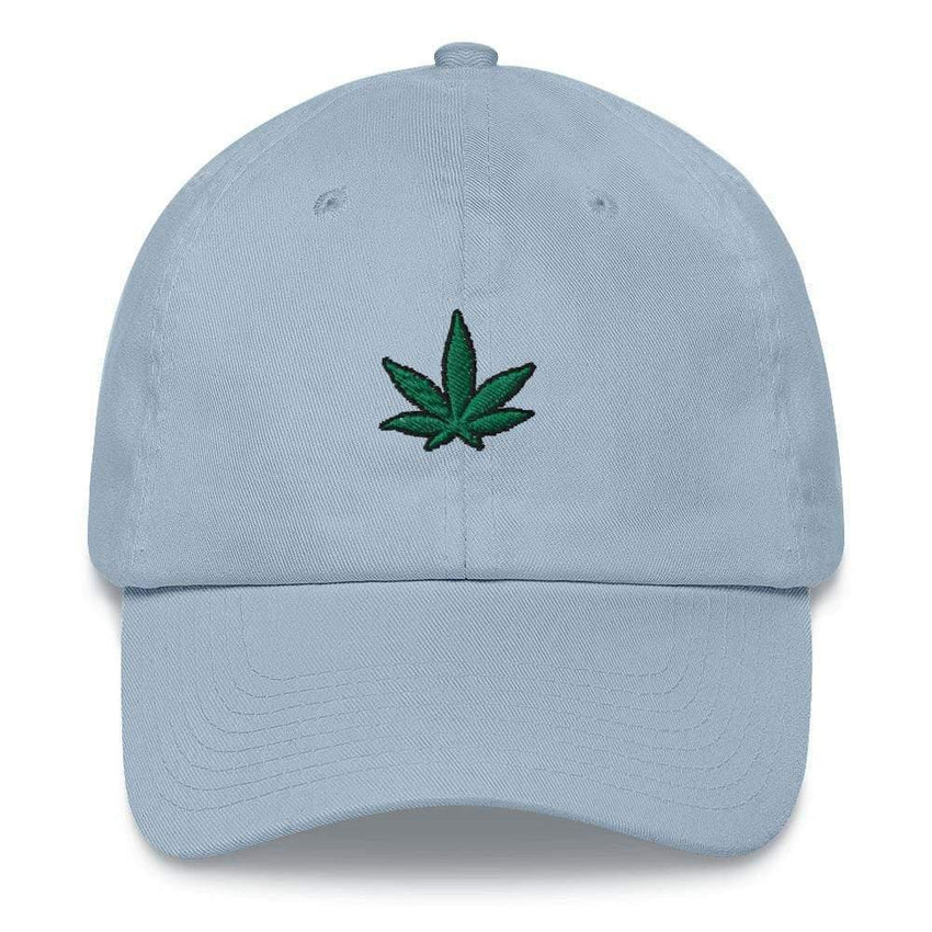 dadrack Dad Hat blue dad hat - go green 420