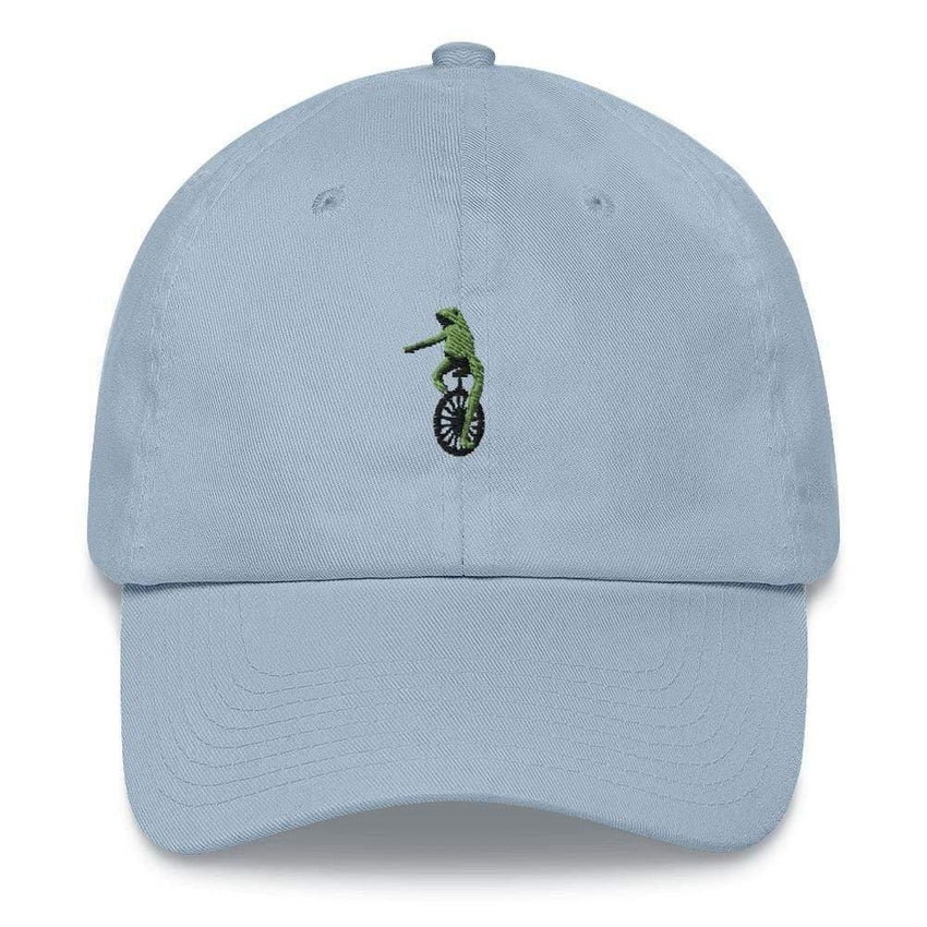dadrack Dad Hat blue dad hat - here comes dat boi