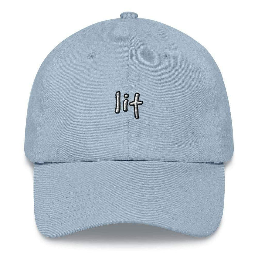 dadrack Dad Hat blue dad hat - lit