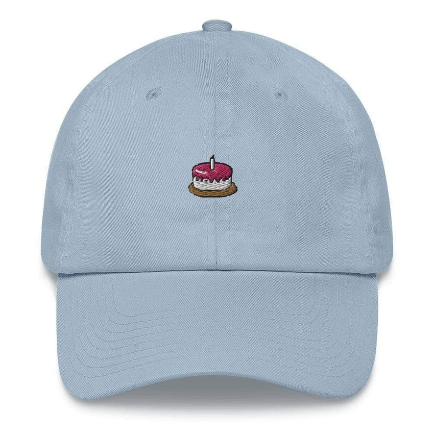 dadrack Dad Hat blue dad hat - the cake is a lie