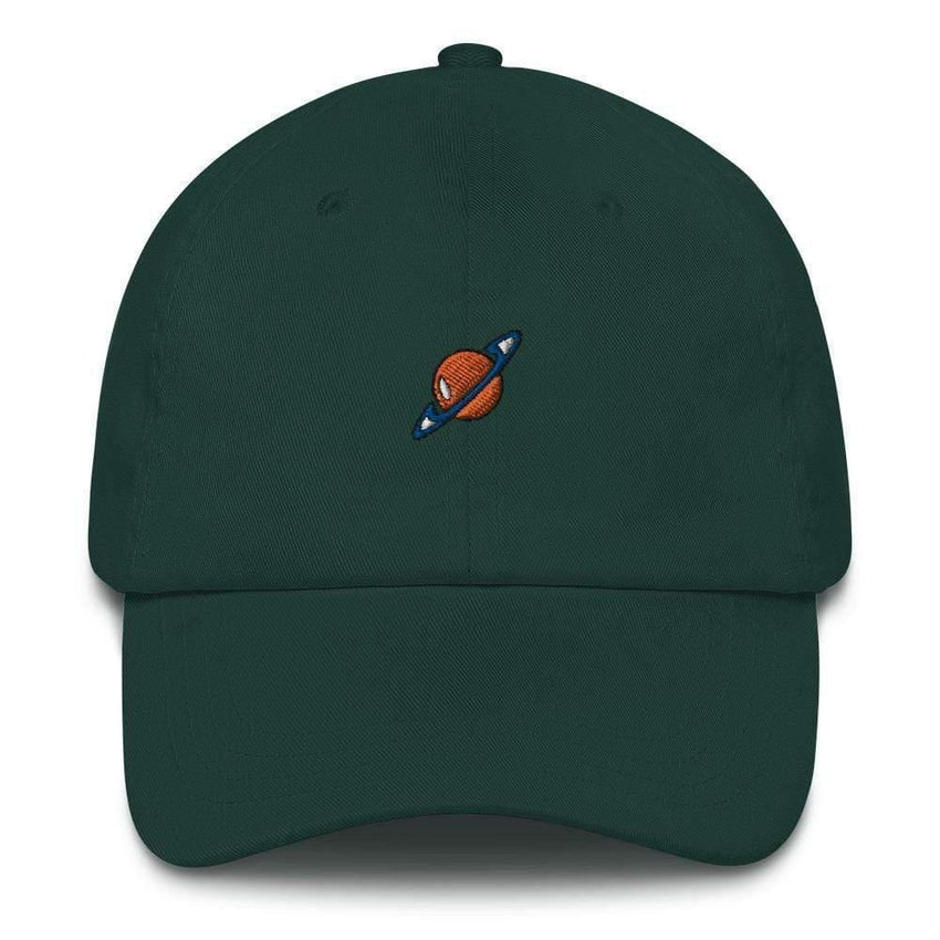 dadrack Dad Hat green dad hat - saturn squad