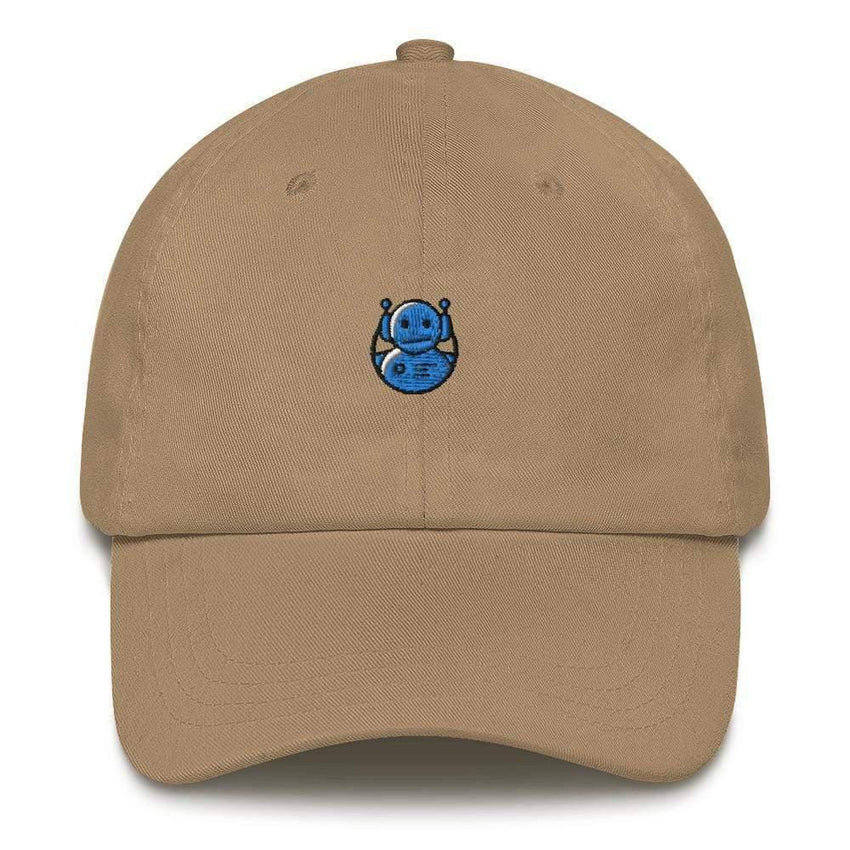 dadrack Dad Hat khaki dad hat - domo arigato mr roboto