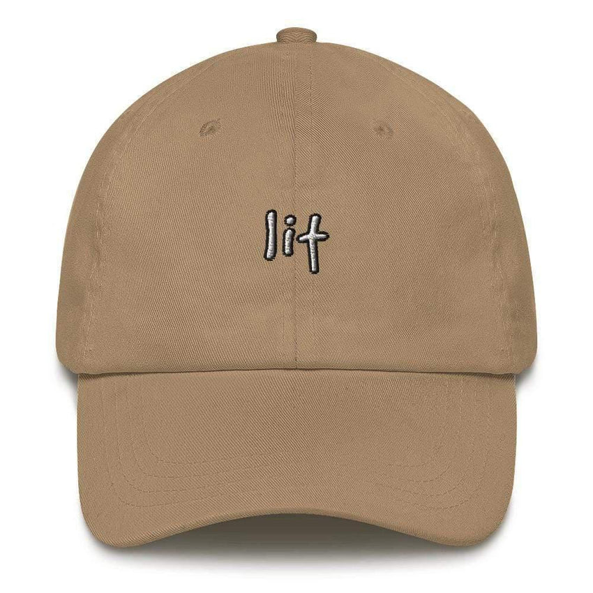 dadrack Dad Hat khaki dad hat - lit