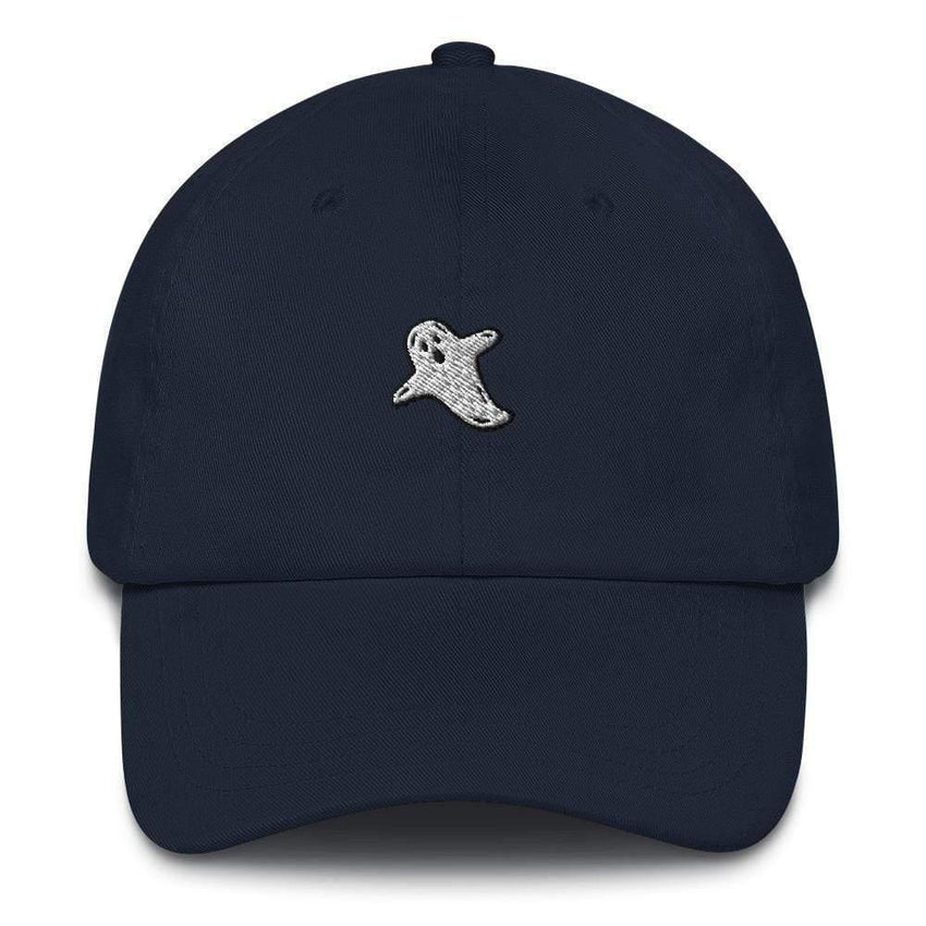 dadrack Dad Hat navy dad hat - a friendly ghost