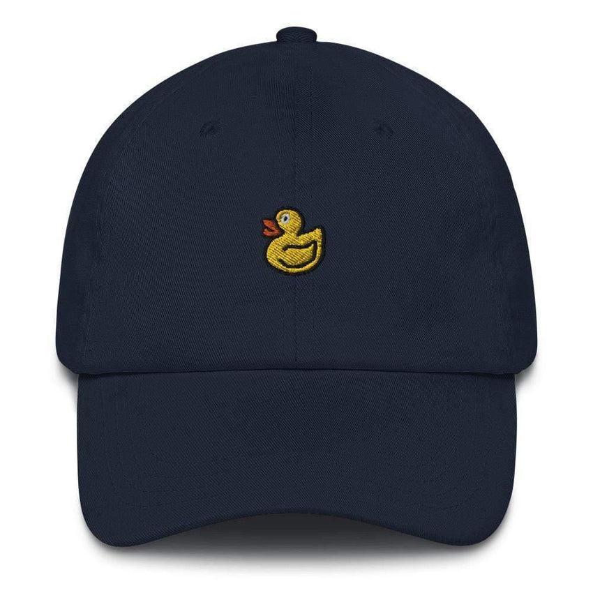 dadrack Dad Hat navy dad hat - rubber ducky