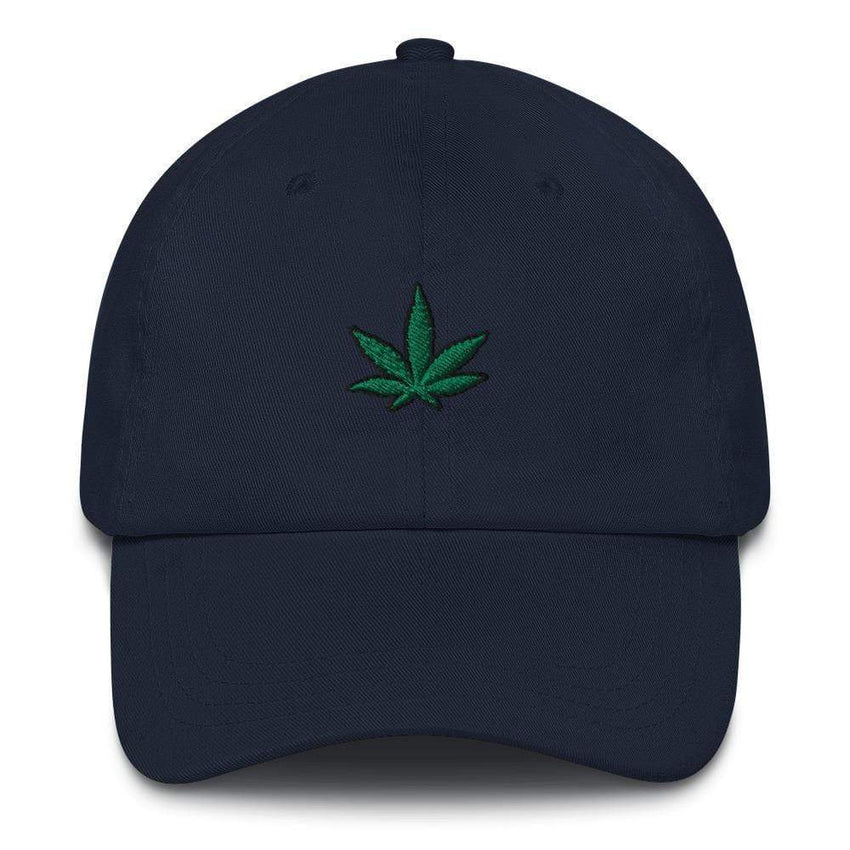 dadrack Dad Hat navy go green 420 dad hat