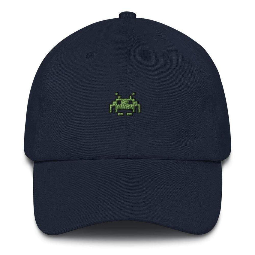dadrack Dad Hat navy space invaders dad hat