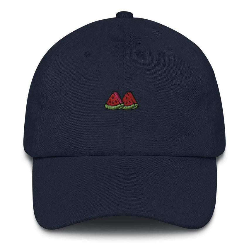 dadrack Dad Hat navy watermelon slice dad hat