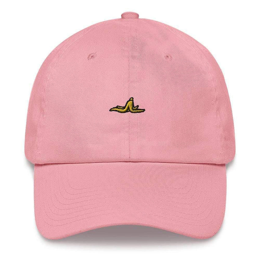 dadrack Dad Hat pink dad hat - banana peel