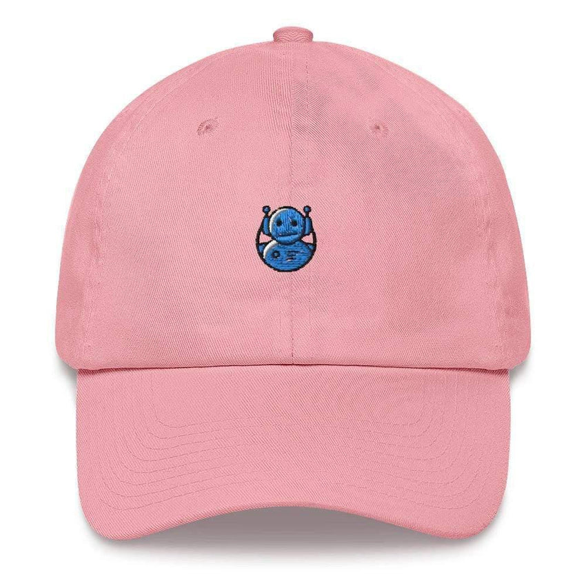 dadrack Dad Hat pink dad hat - domo arigato mr roboto