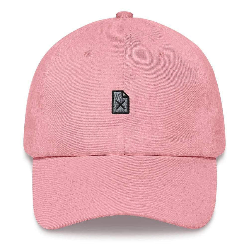 dadrack Dad Hat pink dad hat - file not found