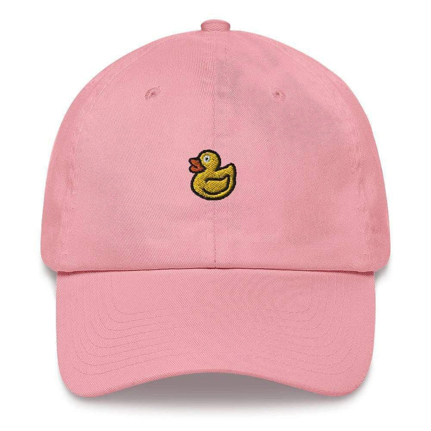 dadrack Dad Hat pink dad hat - rubber ducky