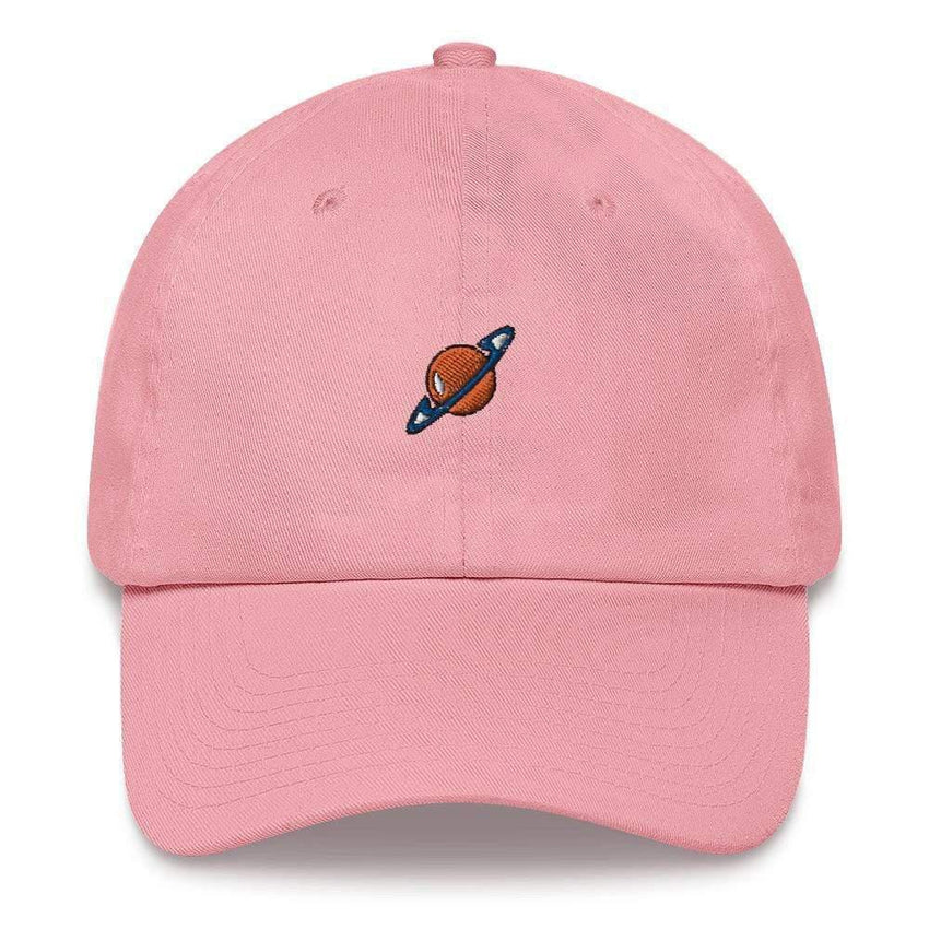 dadrack Dad Hat pink dad hat - saturn squad