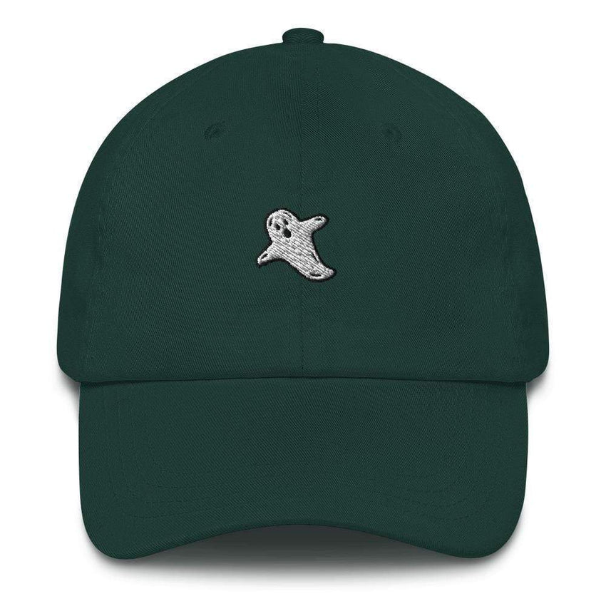 dadrack Dad Hat spruce a friendly ghost dad hat