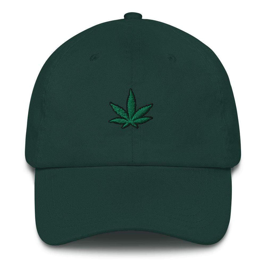 dadrack Dad Hat spruce go green 420 dad hat
