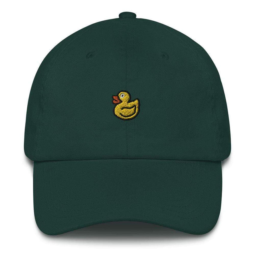 dadrack Dad Hat spruce rubber ducky dad hat