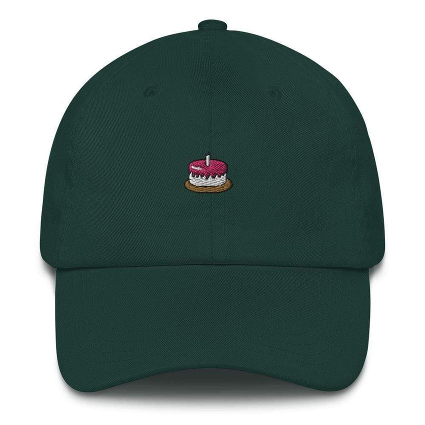 dadrack Dad Hat spruce the cake is a lie dad hat