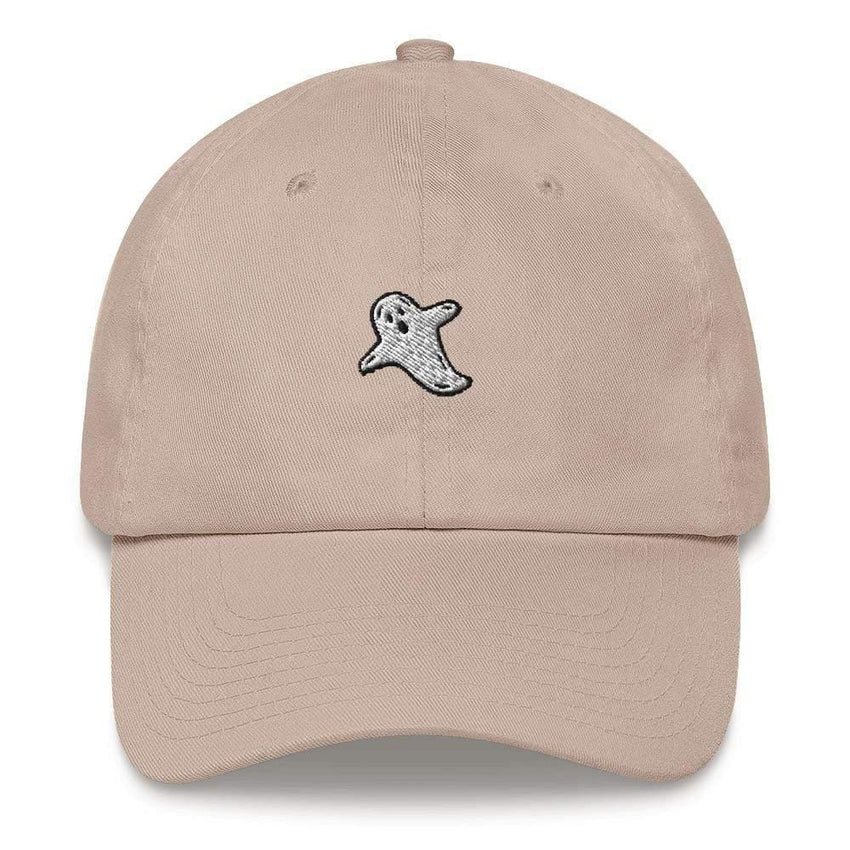 dadrack Dad Hat stone dad hat - a friendly ghost