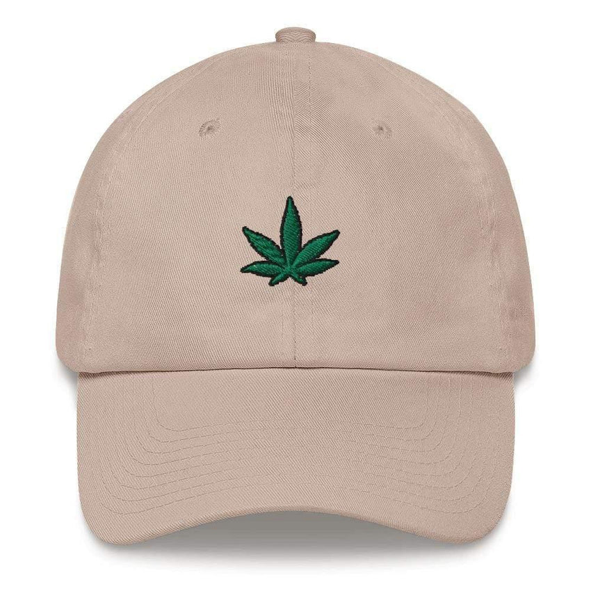 dadrack Dad Hat stone dad hat - go green 420