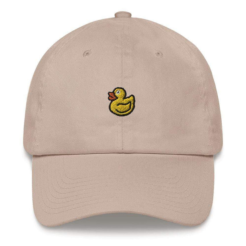 dadrack Dad Hat stone rubber ducky dad hat