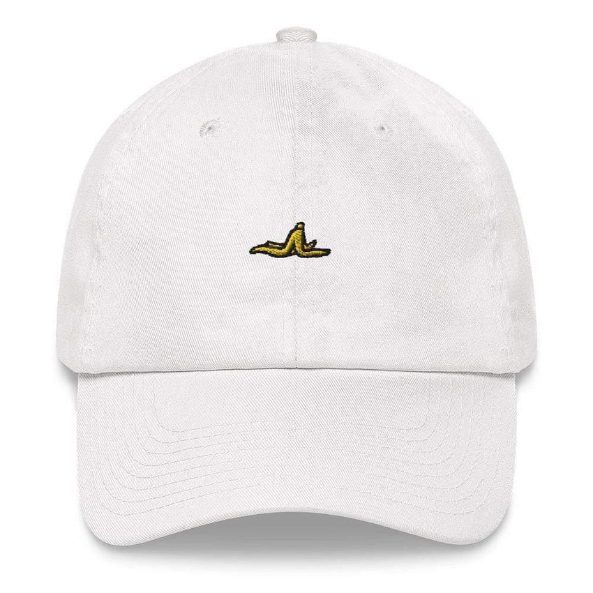 dadrack Dad Hat white dad hat - banana peel