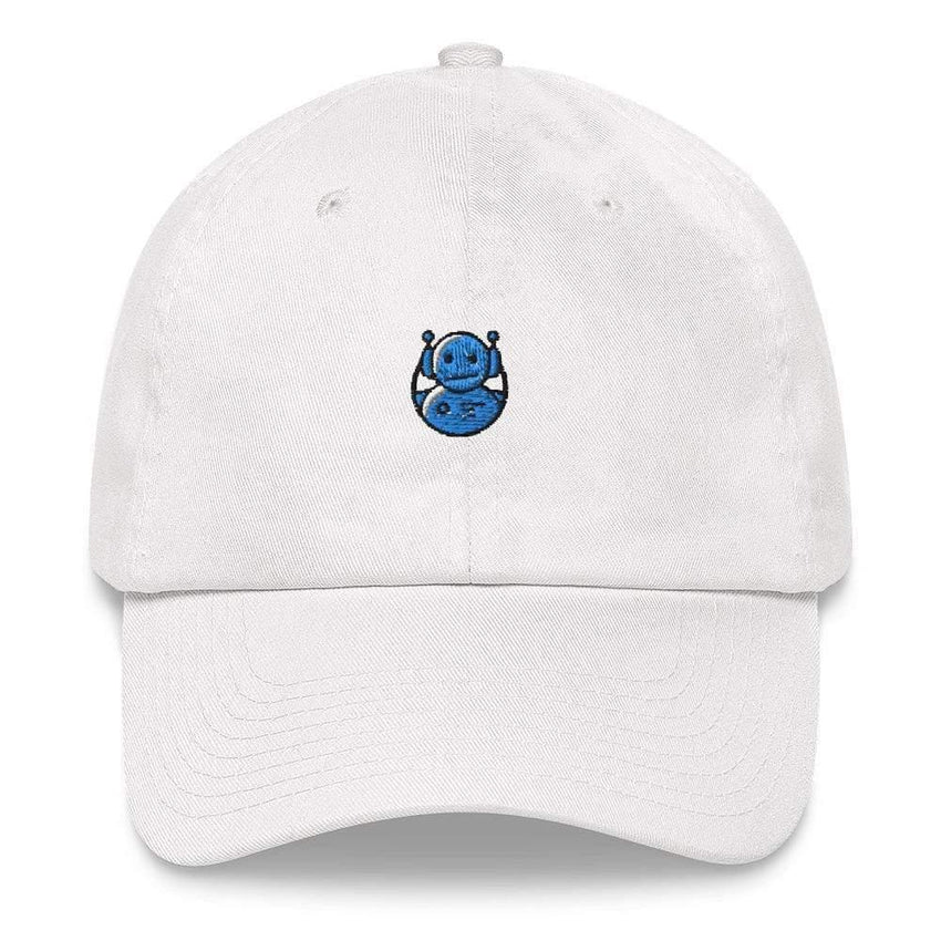 dadrack Dad Hat white dad hat - domo arigato mr roboto