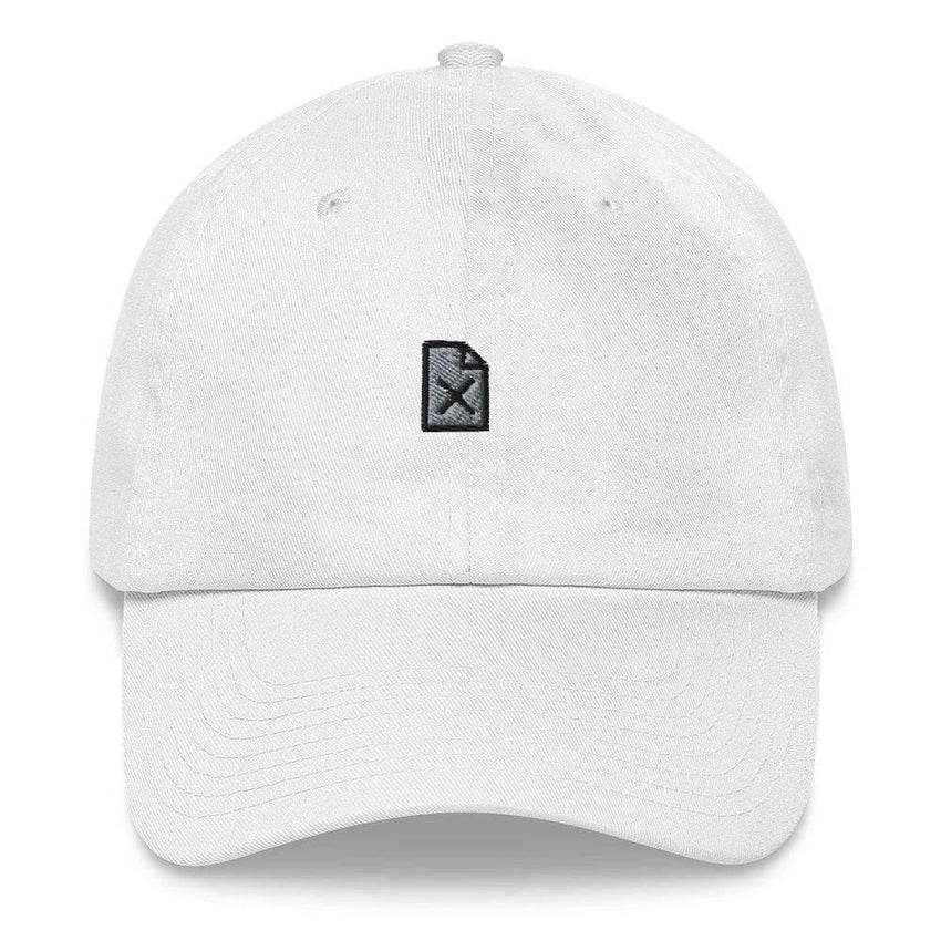 dadrack Dad Hat white dad hat - file not found