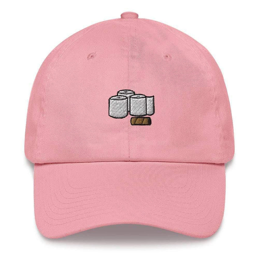 Dadrack Pink toilet paper rolls dad hat