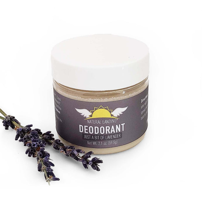 Deodorant : Just a Bit of Lavender