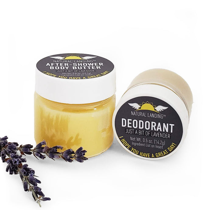 Travel Size Great Morning Bundle : Just a Bit of Lavender