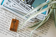 The Hermit Tarot Necklace