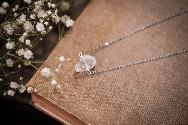 Iceberg Clear Quartz Necklace