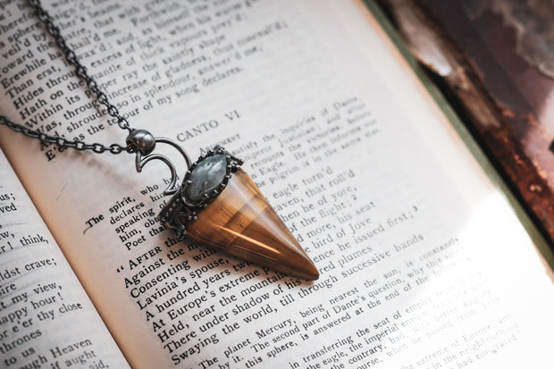Tigers Eye Talisman Necklace