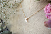 Mini Moon Necklace