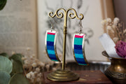 Woven Blanket- Peruvian Earrings