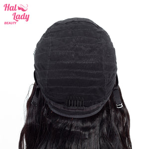 Lace Front Human Hair Wigs Pre Plucked Brazilian Virgin Body Wave Lace Front Hair Wig 150% Density