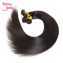 Load image into Gallery viewer, 40 to 60 Inches Long Brazilian Straight Virgin Hair Halo Lady Weaves 100% Unprocessed Human Hair Extensions - Halo Lady Hair