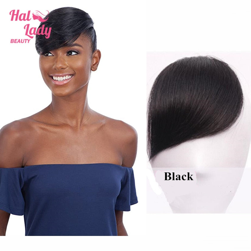 Halo Lady Beauty Clip In Hair Bangs Fringe Hair Extensions Full Sweepi Halo Lady Hair
