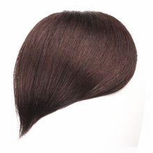 Load image into Gallery viewer, Halo Lady Beauty Clip in Hair Bangs Fringe Hair Extensions Full Sweeping Side Hairpiece Hair Piece Brazilian Non-remy Human Hair