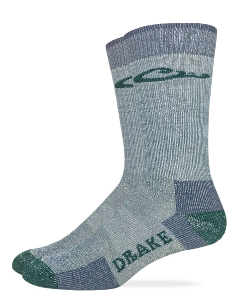 Drake Men's Merino Wool Crew Socks 1 Pair