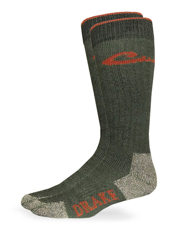 Drake Men's Merino Wool Blend Boot Socks 1 Pair