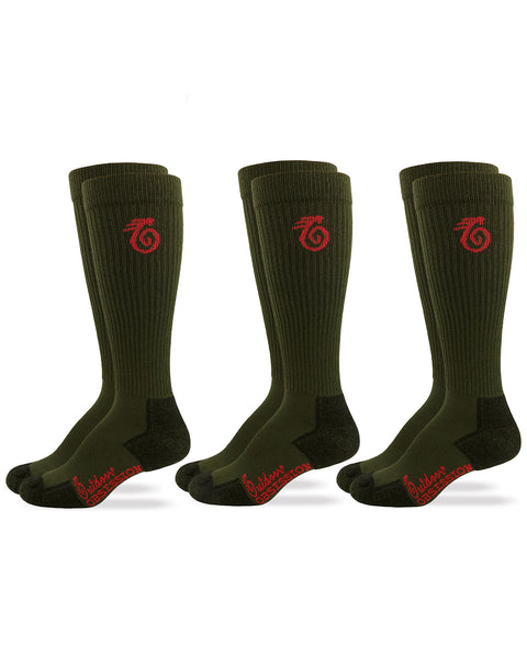 Over The Calf Insect Shield Boot Socks - 3 Pair Pack