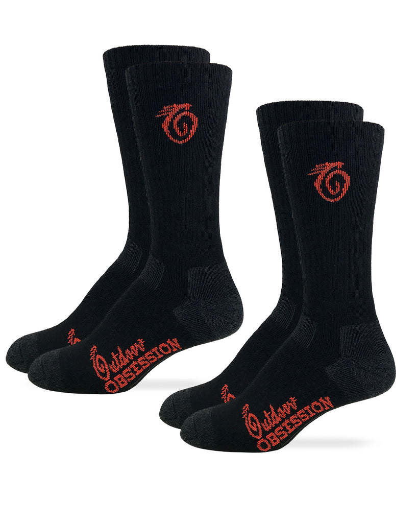 Tactical Ultra-Dri Crew Socks 2 Pair Pack