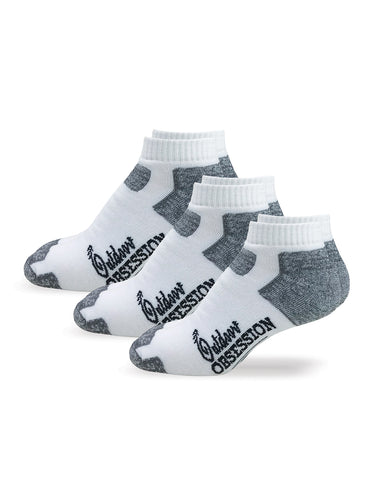 Comfort Cushion Low Cut Socks - 3 Pair Pack